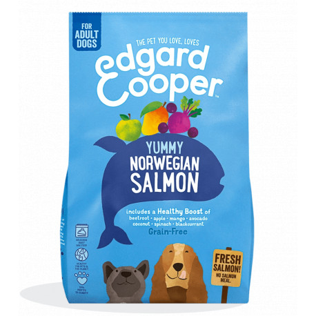 Edgar & Cooper Salmón Noruego Adult Grain Free