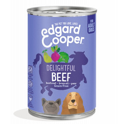 Edgar & Cooper Ternera con Remolacha Adult 400gr