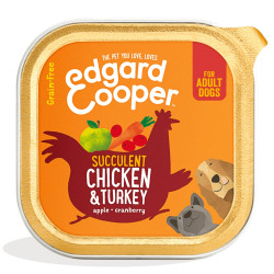 Edgard & Cooper Pollo y Pavo Adult 150gr