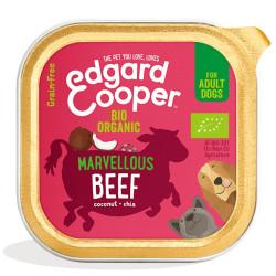 Edgard & Cooper Ternera Orgánica Adult Bio 150gr