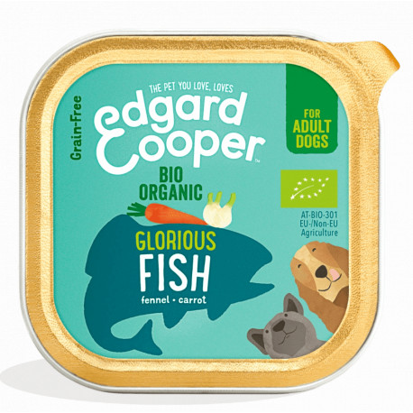 Edgard & Cooper Pescado Orgánico Adult Bio 150gr
