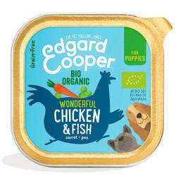 Edgard & Cooper Pollo y Pescado Orgánico Puppy Bio 150gr