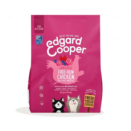 Edgard & Cooper Pollo de Corral y Pato Kitten Grain Free