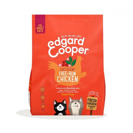 Edgard & Cooper Pollo de Corral Adult Grain Free para Gatos