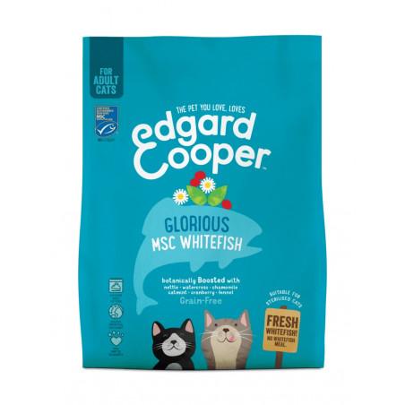 Edgard & Cooper Pescado Blanco Adult Grain Free para Gatos