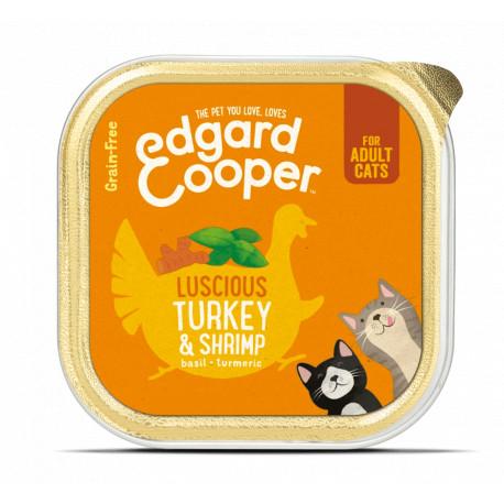 Edgard & Cooper Pavo y Gambas Adult Grain Free 85gr
