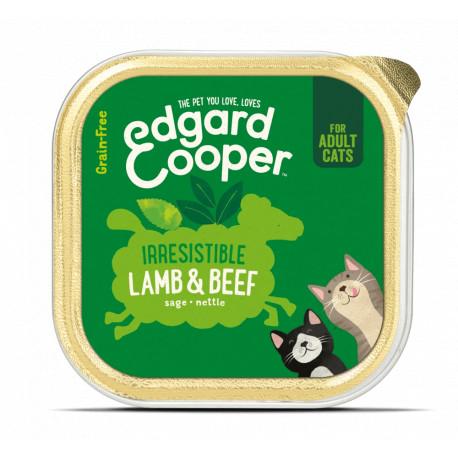 Edgard & Cooper Ternera y Cordero Adult Grain Free 85gr