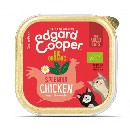Edgard & Cooper Pollo Ecológico Adult Grain Free 85gr