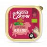 Edgard & Cooper Ternera y vacuno Ecológico Adult Grain Free 85gr