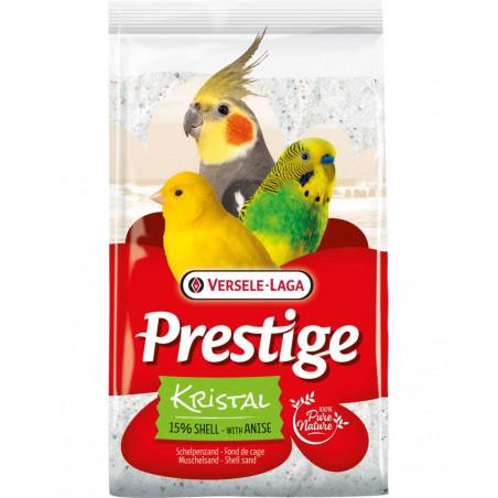 Prestige Kristal Arena de Conchas con Anís para Aves 5kg