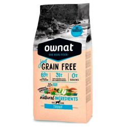Ownat Just Grain Free Adult Trucha