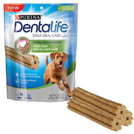Purina DentaLife Razas Grandes 12 Sticks