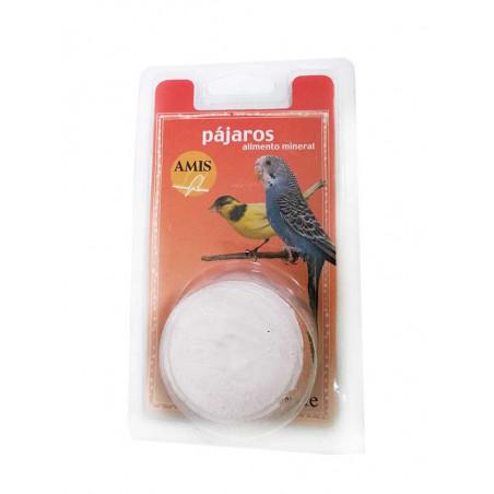 Bloque Mineral Para Canarios y Periquitos AMIS 90g