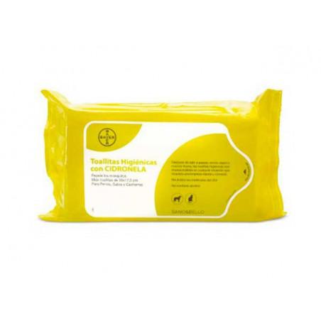 Toallitas higiénicas Perfumadas con citronela para perros
