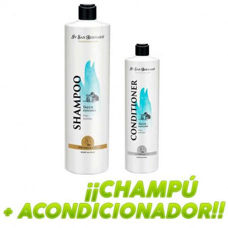 Oferta Pack Champú y Bálsamo Talco IV San Bernard