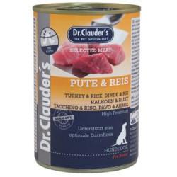 Latas Prebiotics Dr. Clauder's Pavo y Arroz