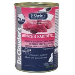 Latas Prebiotics Dr. Clauder's Ciervo y Patata