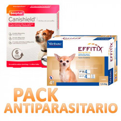 Pack Antiparasitario Canishield