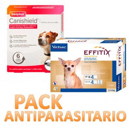Pack Antiparasitario Canishield para Perros