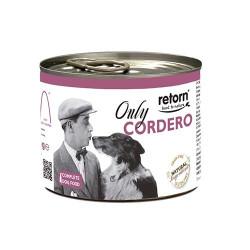 Retorn Lata Monoproteína De Cordero Grain Free Para Perro