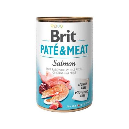 Brit Paté Salmón Y Pollo 400g