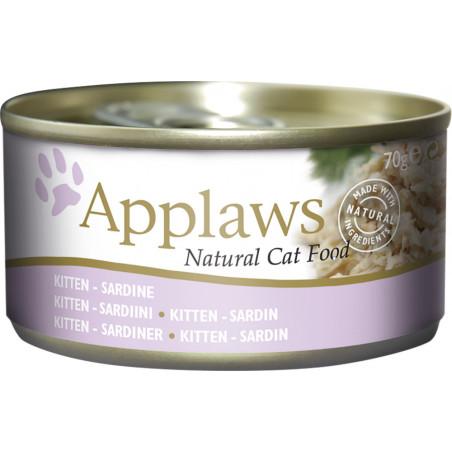 Applaws Cat Lata Sardinas para Gatitos 70g