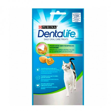 Snacks Purina Dentalife para Gatos