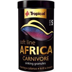 Alimento Tropical AFRICA CARNIVORE Grano Pequeño para Peces