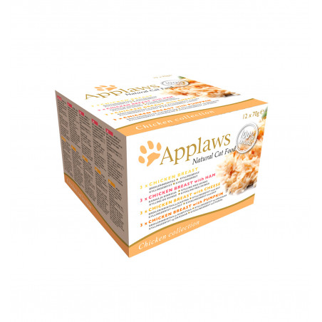 Applaws Cat Multipack Pollo 12x70g