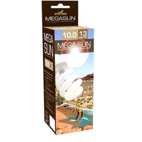 Lámpara Mega Sun 10.0 Con UVB Y UVA para Terrario