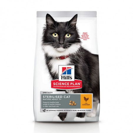 Hill's Science Plan Feline Mature Adult Sterilised Cat Pollo