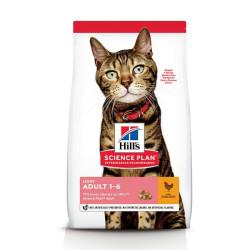 Hill's Feline Adult light con Pollo