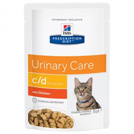 Prescription diet feline c/d multicare con pollo 85g