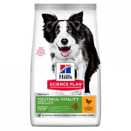 Hills Canine Adult Youthful Vitality 7+ Razas Medianas