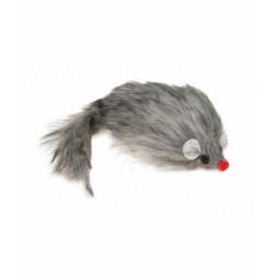 Ratón Peludo Cat Toy con Sonido