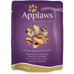 Applaws Cat Pollo con Arroz 70g
