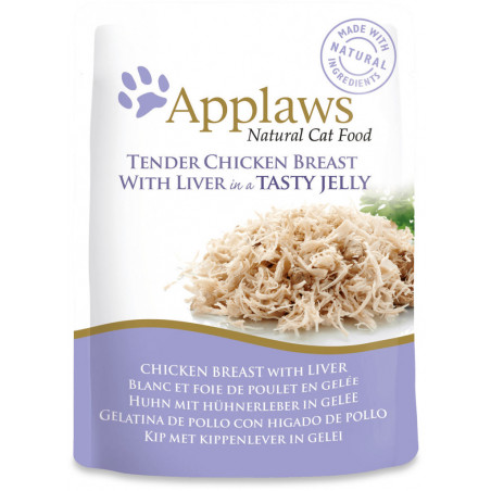 Applaws Cat Hígado y Pollo 70g