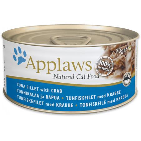 Applaws Cat Lata Atún y Cangrejo 70g
