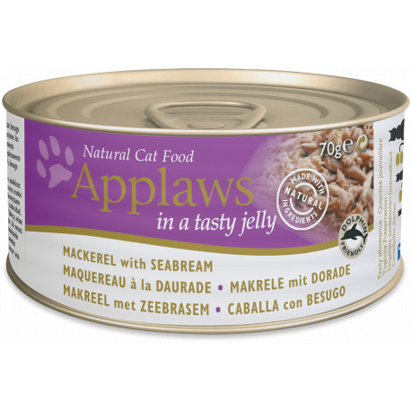 Applaws Cat Lata Caballa y Besugo 70g
