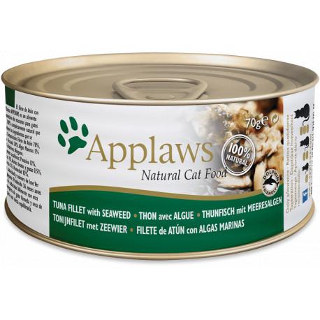 Applaws Cat Lata Atún y Algas 70g