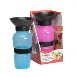 Bebedero Portable Camon Con Recipiente Incorporado 550ml