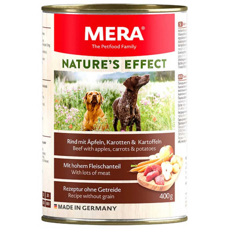 Lata Mera Nature's Effect Carne de Res 400g