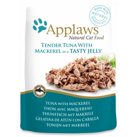 Applaws Cat Atún con Caballa 70g