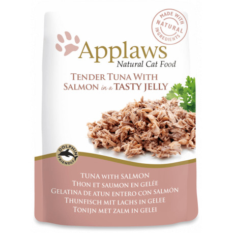 Applaws Cat Atún con Salmón 70g
