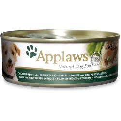 Applaws Pollo Con Higado y Verduras 156g