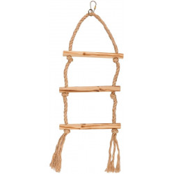 Escalera Bird Toy Madera Pájaro