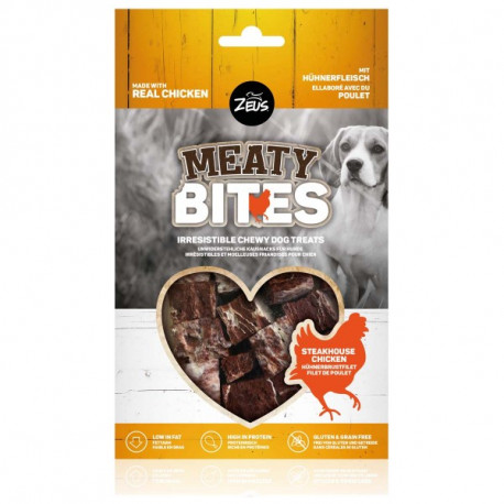 Snack Zeus Meaty Bites Grain Free Pollo