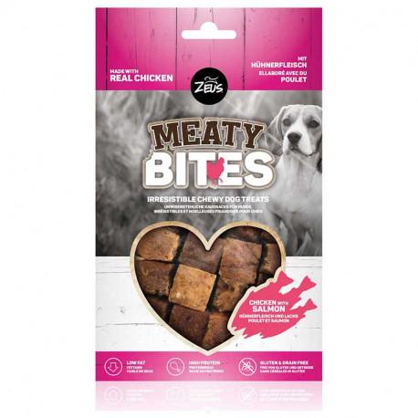Snack Zeus Meaty Bites Grain Free Pollo con Salmón