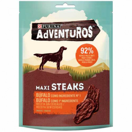Purina Adventuros Maxi Steaks Búfalo