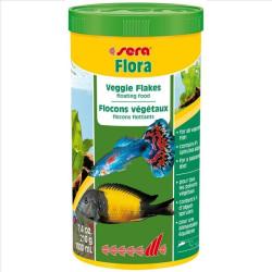 Sera flora Alimento en Copos para peces ornamentales